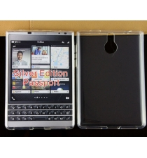 Ốp Dẻo Trong Suốt Blackberry Passport Silver